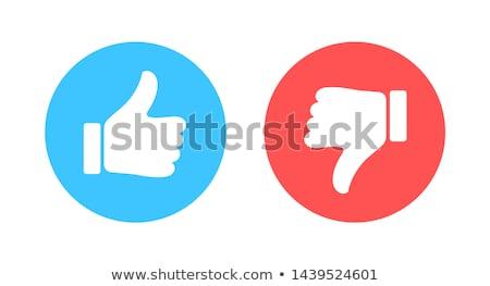 Como aversión signo símbolo icono Foto stock © romvo