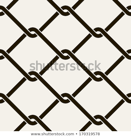 Chain Links Seamless Graphic Stock photo © Krisdog