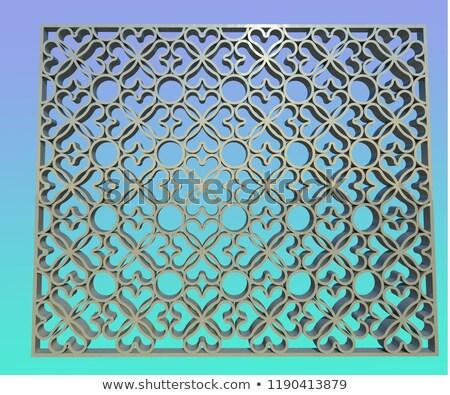 Foto stock: Metal · dígitos · coleção · 3D · 3d · render · ilustração