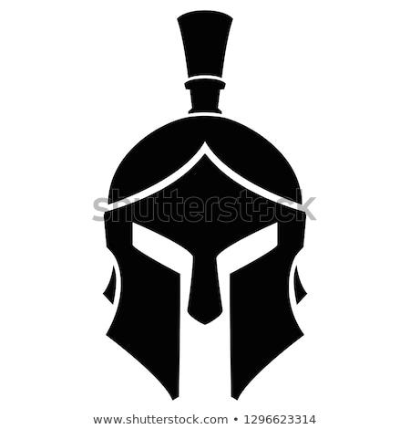 Spartan or Roman Gladiator Helmet Concept Stock photo © Krisdog