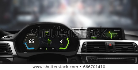 close up modern car dashboard Stock photo © sarymsakov
