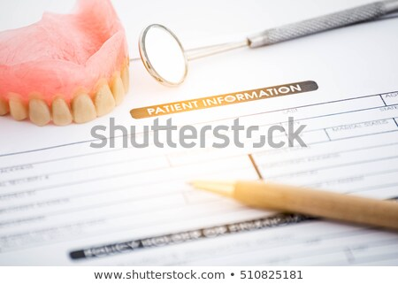 Medical Dental Record Concept Stock photo © -TAlex-