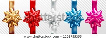 Gouden Rood zilver Blauw roze geschenk Stockfoto © Iaroslava