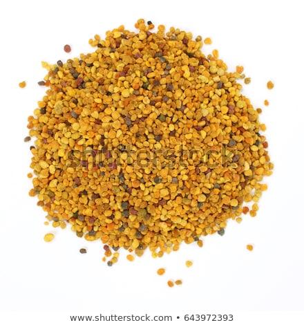 Stok fotoğraf: Arı · polen · propolis · yalıtılmış · beyaz · üst