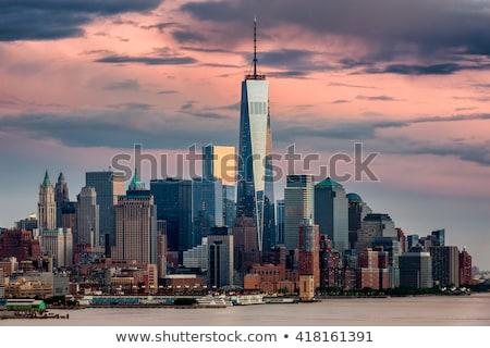 Manhattan skyline nuovo mondo commercio centro Foto d'archivio © AndreyPopov