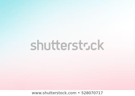 szivárvány · tájkép · fű · fák · kettő · rajz - stock fotó © colematt