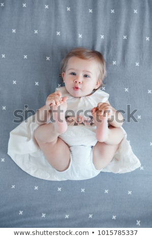 una · ani · fată · copil · ochi - imagine de stoc © Lopolo