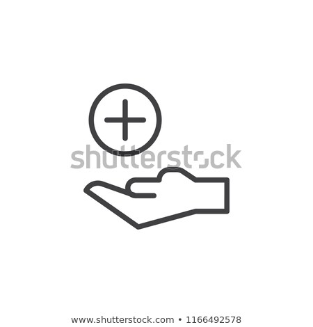 Cross  single icon. Stock photo © smoki