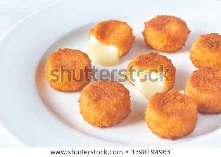 Camembert nuggets Stock photo © Alex9500
