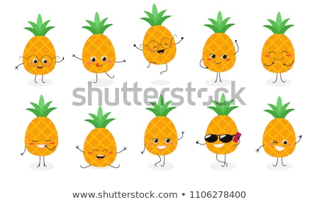 Mascot Smiley Draw Emotion Illustration Stock photo © lenm