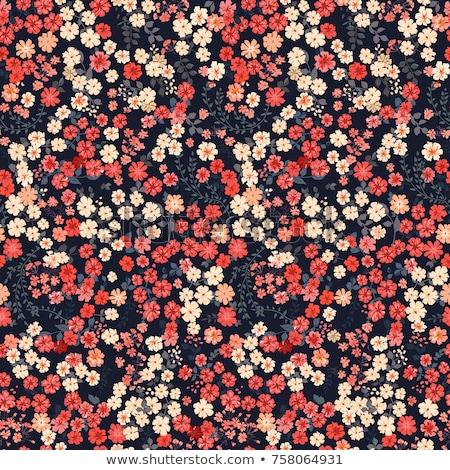 Elegante cute modello di fiore sfondo carta Foto d'archivio © SArts