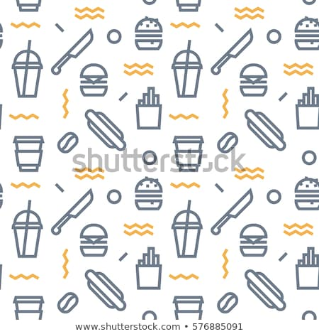 colored allergy icon pattern stock photo © netkov1