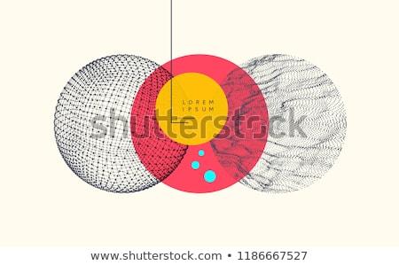 doodle · patroon · chemie · wetenschap · papier - stockfoto © netkov1