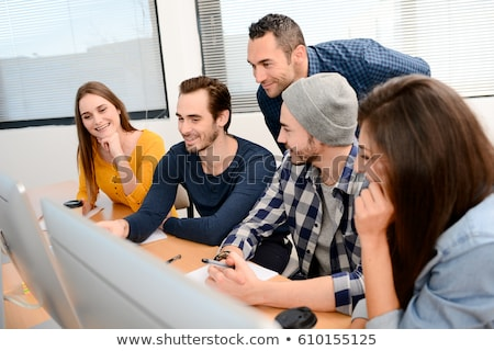 Business School Training of People to Startup Web Stock photo © robuart