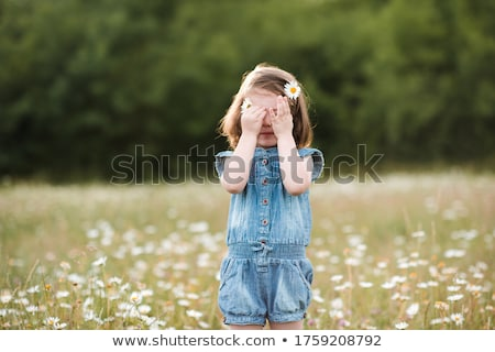 Сток-фото: плачу · ребенка · только · луговой · лице · лет