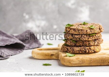 green bean veggie burgers Stock photo © nito