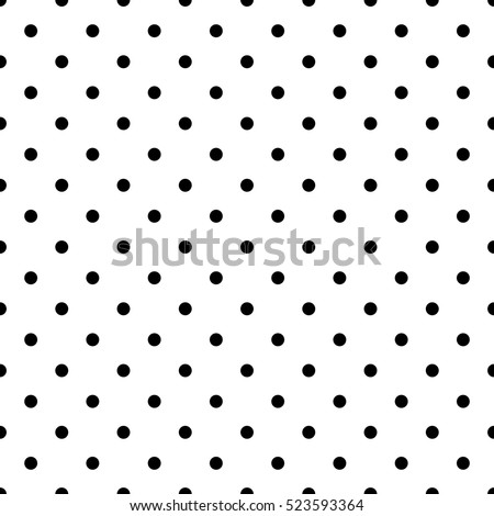 Stock photo: Classic polka dot textile background texture, white dots on red