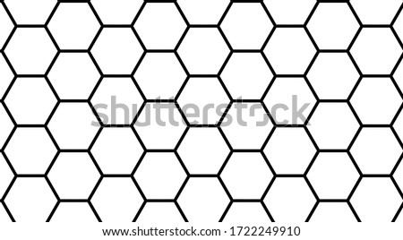 White distorted seamless hexagonal texture. Decorative geometric polygons pattern. Abstract 3d backg Stock photo © ExpressVectors