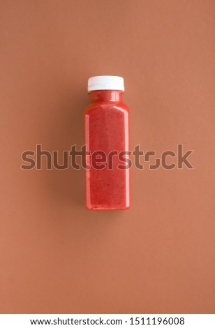Detox superfood smoothie chocolate bottle for weight loss cleans Stock photo © Anneleven