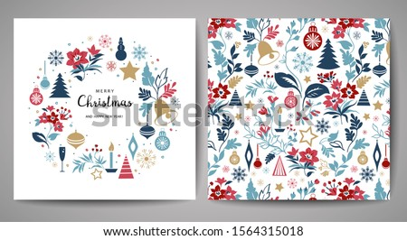 Background templates with christmas theme Stock photo © bluering
