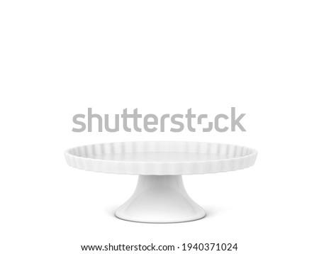 Modern cake stand Stock photo © montego