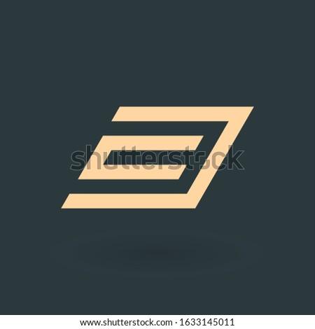 Meetkundig link keten geschikt unie Stockfoto © kyryloff