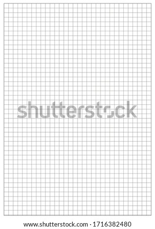 Five millimeters square white grid on black, blueprint pattern Stock photo © evgeny89