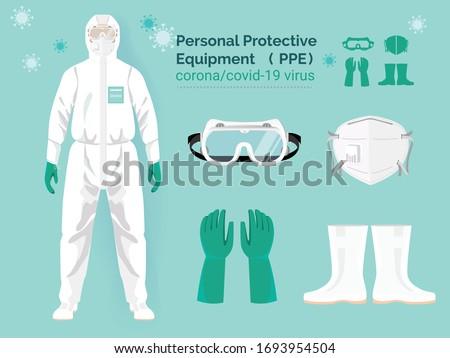 セット 医師 着用 個人 ストックフォト © feverpitch