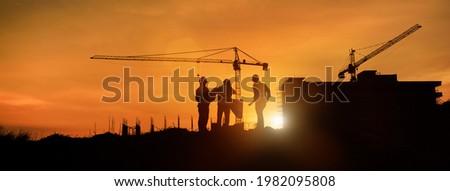 Construction quality control concept banner header Stock photo © RAStudio