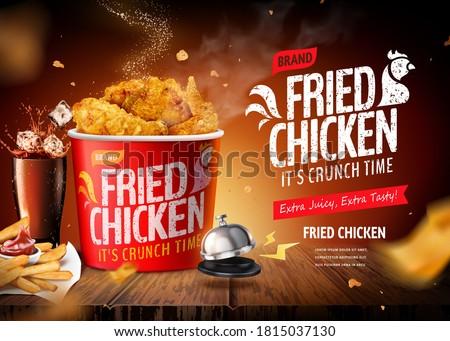 жареная курица белый чаши соус продовольствие куриные Сток-фото © tycoon