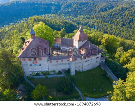 Kyburg castle located between Zurich and Winterthur, Switzerland Stock photo © lightpoet