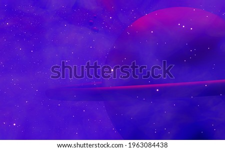 Ominous asteroid Stock photo © paulfleet