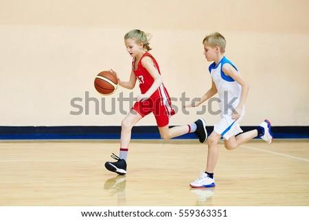 Gyermek kosárlabda közelkép áll kar szabadtér Stock fotó © ElinaManninen
