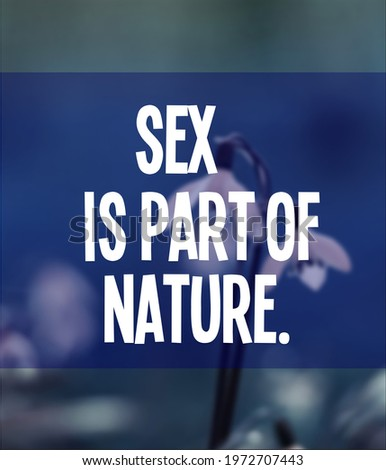 thinking about sex stock photo © lightsource