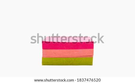 パック · 接着剤 · 注記 · 白 · 背景 · 黄色 - ストックフォト © wavebreak_media