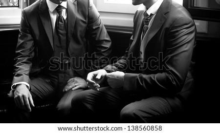 Elegante homem elegante preto projeto Foto stock © Discovod