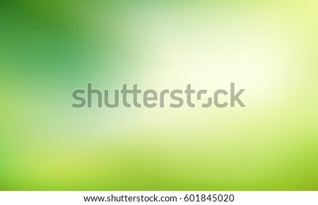 fresh summer leaves on blurred green background stock photo © maxpro
