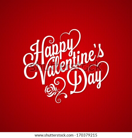 abstract beautiful valentines day red background vector design i Stock photo © SArts