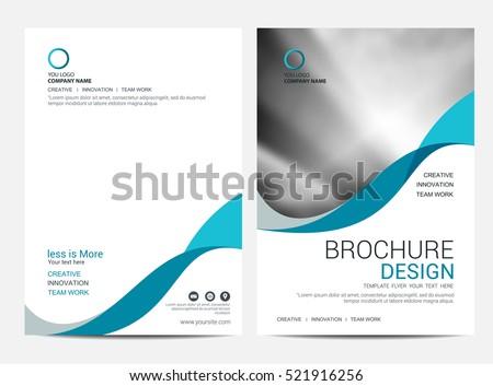 бизнеса ежегодный докладе брошюра шаблон дизайна Сток-фото © SArts