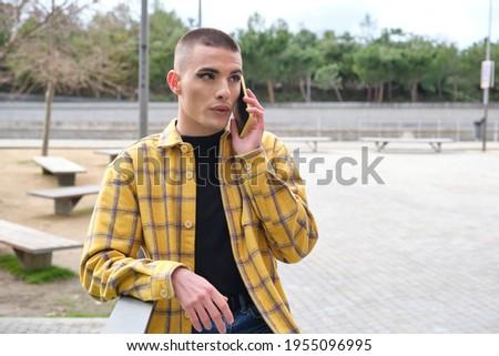 怒っ 男 話し 携帯電話 ファッション ゲイ ストックフォト © wavebreak_media