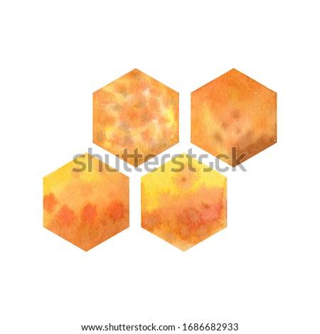 Méz fésű darab méhsejt absztrakt Franciaország Stock fotó © FreeProd