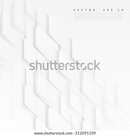 vector abstract geometric shape from gray diagonal romb vector illustration stock photo © kyryloff