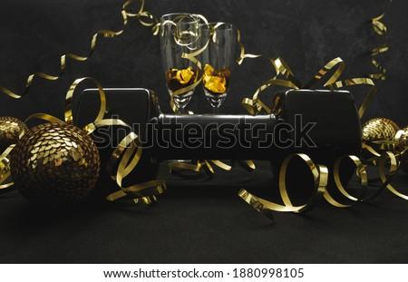 bruiloft · bril · champagne · banket · partij · wijn - stockfoto © dash