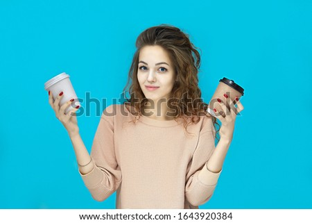 Portre avrupa kadın 20s Stok fotoğraf © deandrobot
