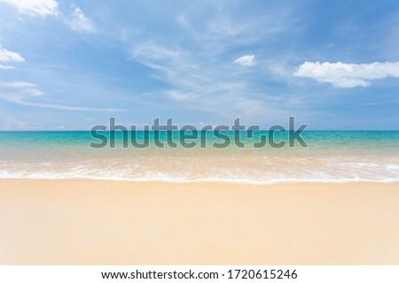 Mooie tropische zee zand strand Stockfoto © vapi