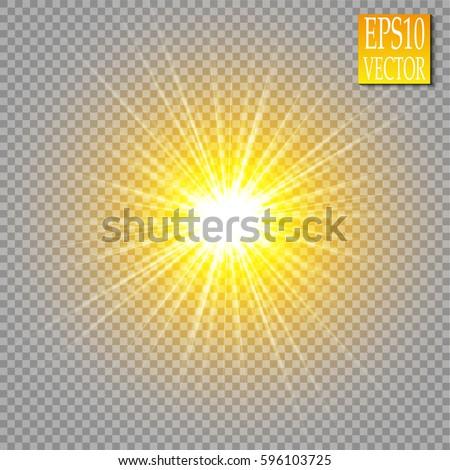 Altın ışıklar etki sarı Stok fotoğraf © MarySan