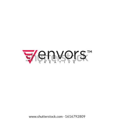 Trójkąt tech logo firmy szablon czas odizolowany Zdjęcia stock © kyryloff