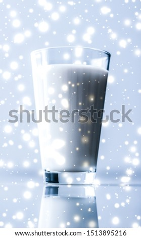 Magia férias beber orgânico lactose Foto stock © Anneleven