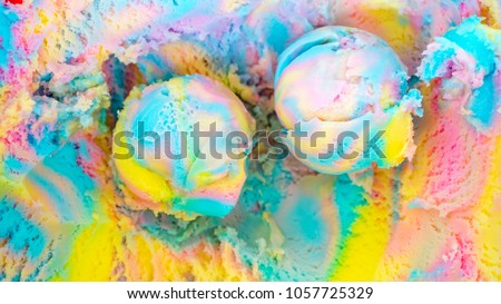 Ice cream with rainbow sprinkles Stock photo © BarbaraNeveu