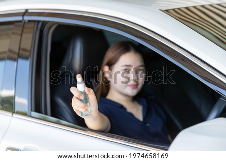 человека защиту маске сидят автомобилей рук Сток-фото © Illia